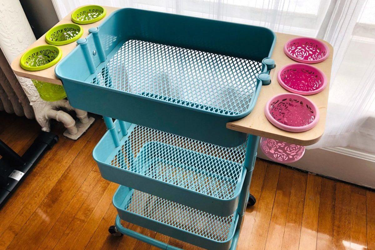 Ways to Use Your Raskog Cart From IKEA